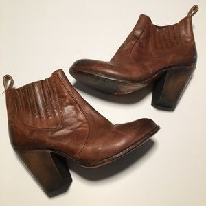 Freebird by Steven Morgan Ankle Boot Leather 8